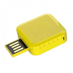 方形360°旋轉USB