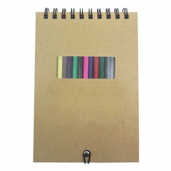 彩鉛筆記本