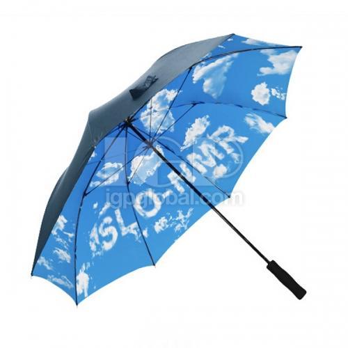 印花高爾夫傘