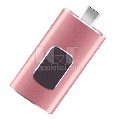 IGP(Innovative Gift & Premium)|4 in 1 OTG Mobile USB