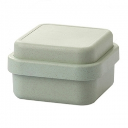 Bamboo Fiber Square Lunch Box