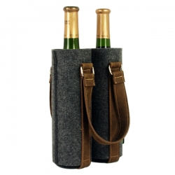 雙瓶裝酒袋