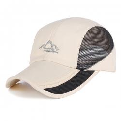 可摺疊網帽