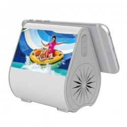 水滴形吸盤音箱