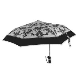 三折偏心傘