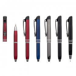 三合一金屬筆