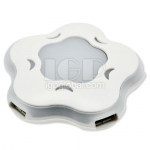Flower-shaped USB Hub