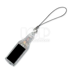 酒瓶形太陽能鑰匙扣