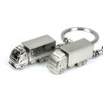 Creative metal vehicle keychain