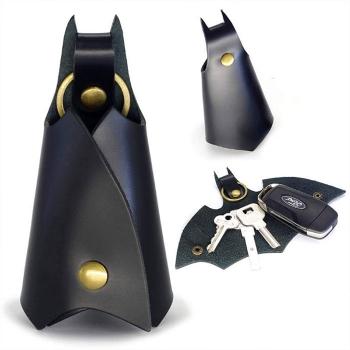 蝙蝠鑰匙圈皮套
