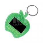 蘋果形太陽能鑰匙扣