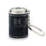 Silver Barrel Key Chain