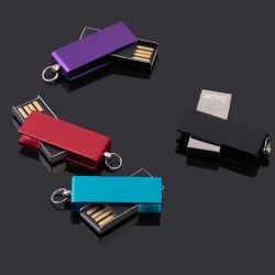 金屬旋轉USB手指