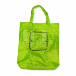 Zipper Nylon Shopping Bag