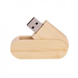 木製旋轉USB手指