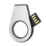 Stainless Steel Rotating USB