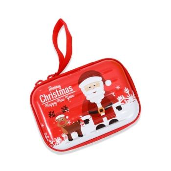 聖誕方形馬口鐵收納包