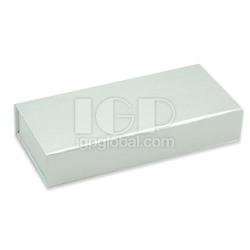 純色翻蓋長方體筆盒