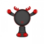 Santa claus and deer creative phone holder