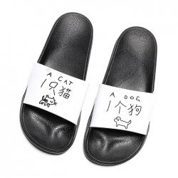 時尚舒適塑料涼拖鞋