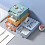 Desktop drawer storage box