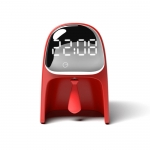 Creative gentleman alarm clock light