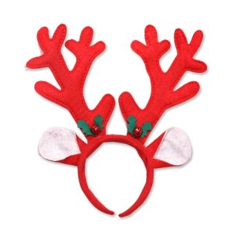 聖誕節鹿角髮箍頭扣
