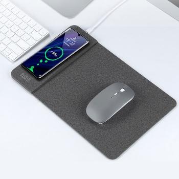 PU皮無線充滑鼠墊
