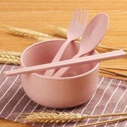 小麥餐具4件套