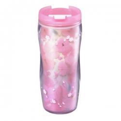 櫻花少女粉色隨身杯