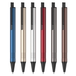 Aluminum Rod Advertising Pen-Black