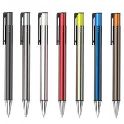 按動式雙管金屬筆
