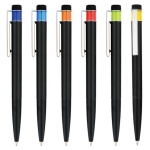 Push Type Black Rod Advertising Pen