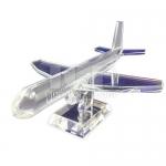 飛機模型水晶擺件