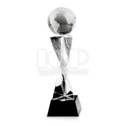 創意地球水晶獎杯