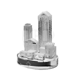都市紀念水晶擺設