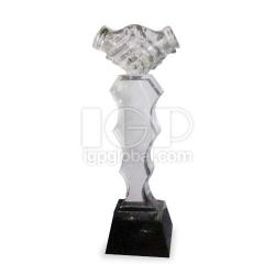 高檔商務禮品水晶獎座