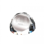 Hemispherical Crystal Paperweight
