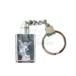 內雕水晶鑰匙扣