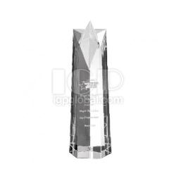 柱狀水晶紀念獎座