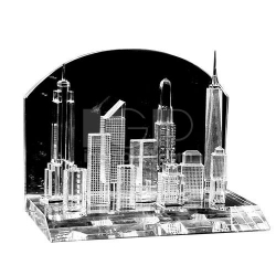 City Buildings Crystal Stand