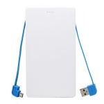 Two-wire Power Bank (OTG, Full-colour)