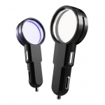 Crystal LED Car Charger