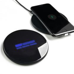 鋼化玻璃發光無線充電器
