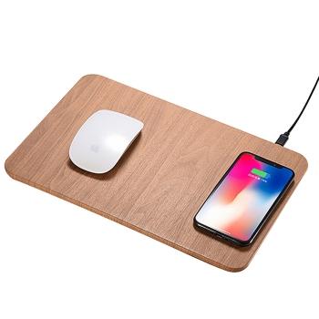 木紋無線充滑鼠墊