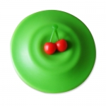 Cherry Silicone Coaster