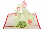 3D Plant Greeting Card