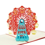 3D Ferris Wheel Greeting Card