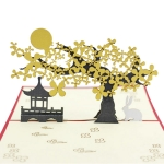 Mid-autumn Festival Greeting Card
