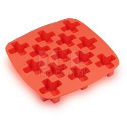 十字形矽膠冰模